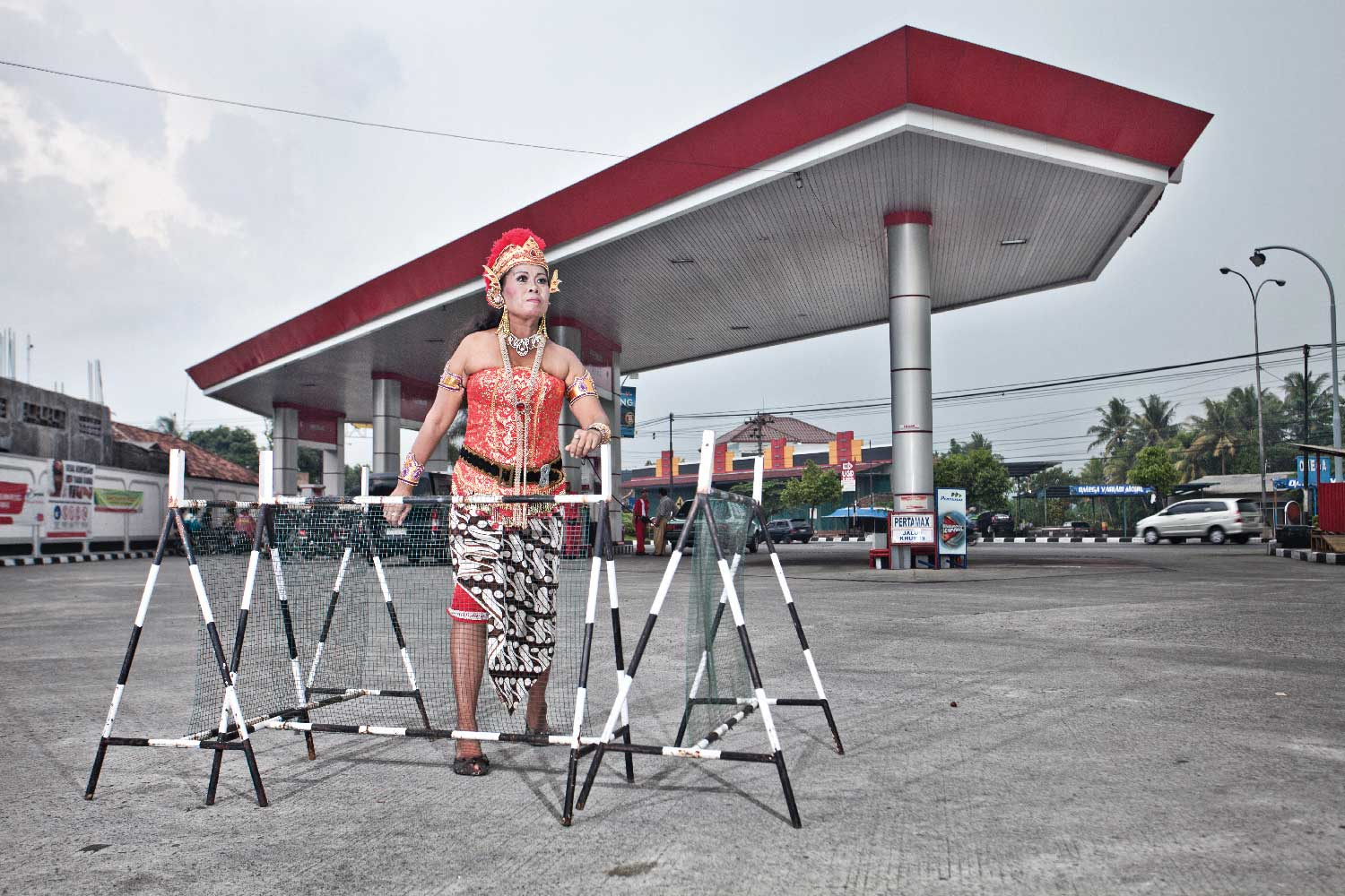 Helen Marshall and Risang Yuwono, GAS STATION, 2013